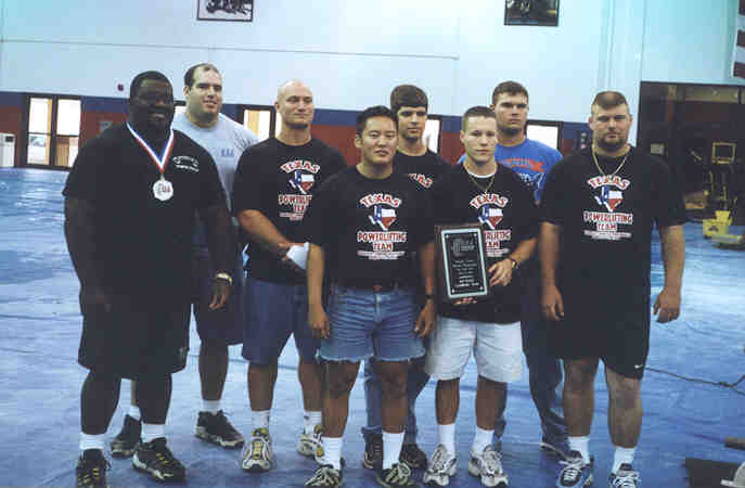 Team Texas 2000 USAPL Jr Nationals
