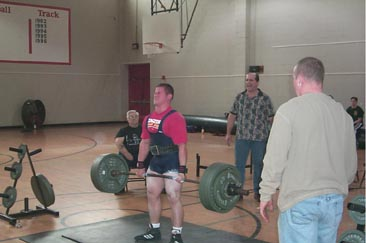 Steve Hewer deadlift