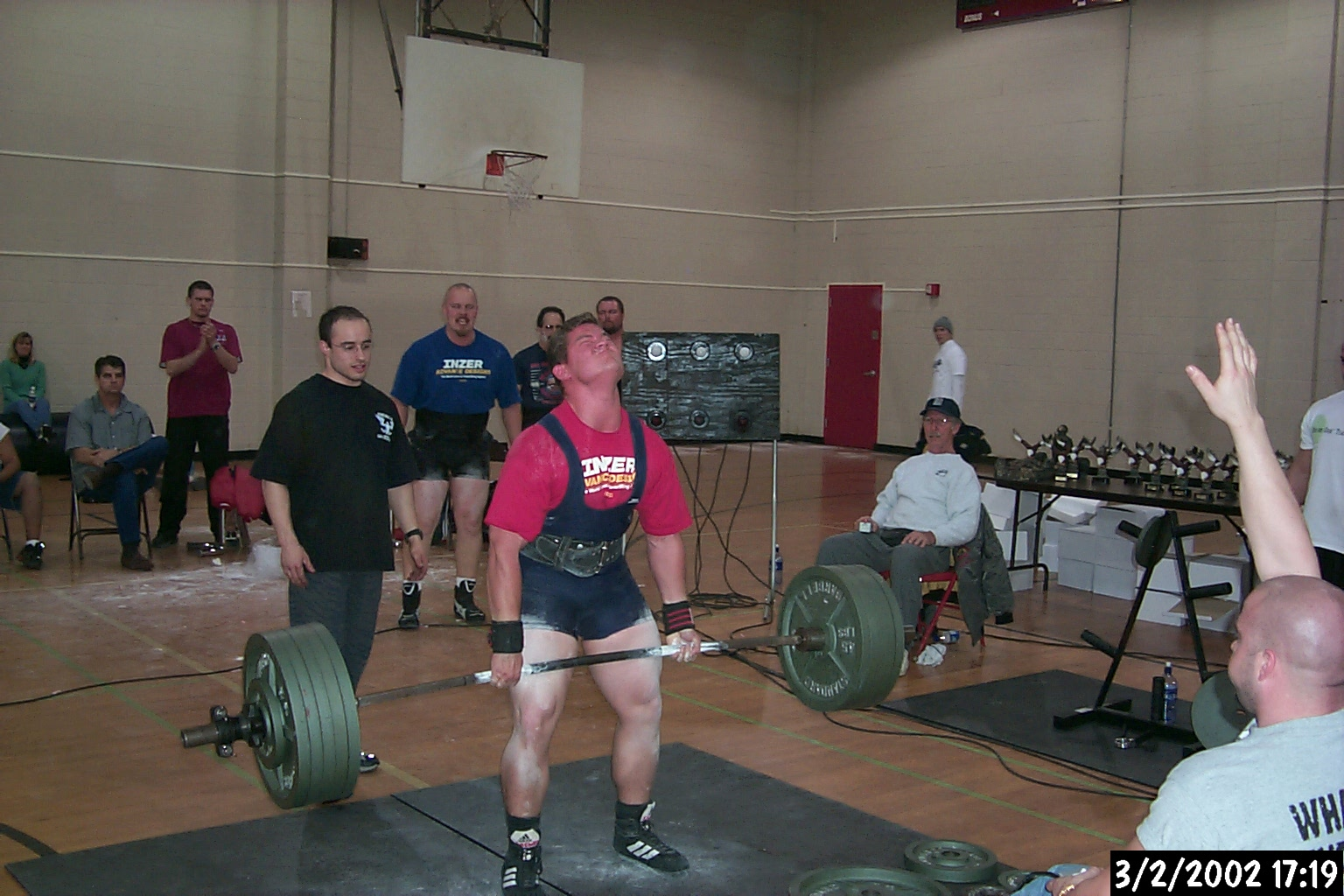 Steve Hewer - 525 Deadlift at the 2002 APA Tristate