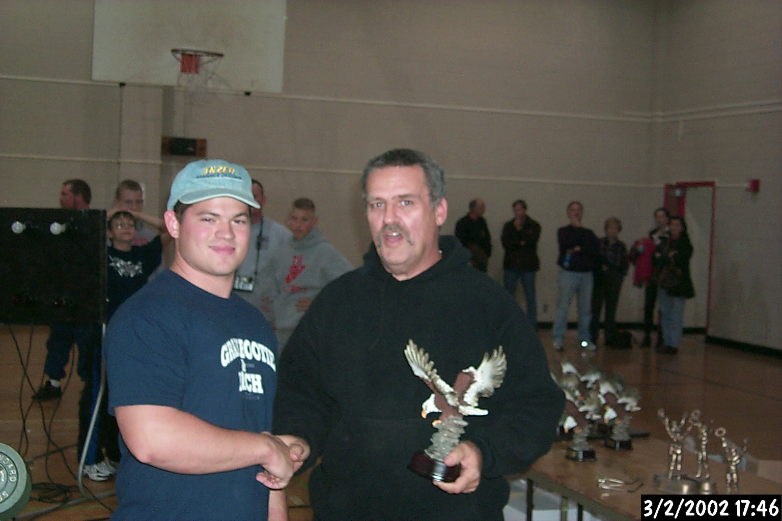Steve Hewer - best lifter 2002 APA Tristate